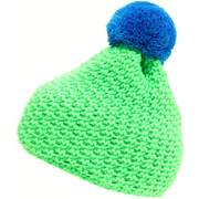 Blizzard Mixer beanies, Green/blue