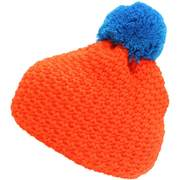 Blizzard Mixer beanies, Orange/blue