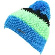 Blizzard Tricolor beanies, Black/green/blue