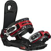 Head FLATBED 4D_SpeedDisc snowboard bindings, Black