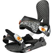 Head P THREE 4D + SpeedDisc snowboard bindings, Black