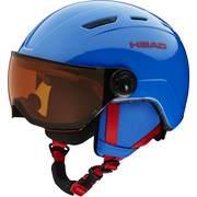 Head MOJO Visor ski helmets, Blue