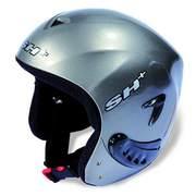 SH+ IRON PAINTED ski helmets, Titanium