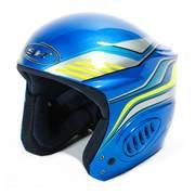 SH+ JET STREEM ski helmets, Metal/blue