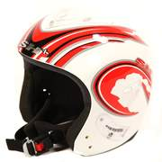 SH+ JET STREEM ski helmets, Metal/white