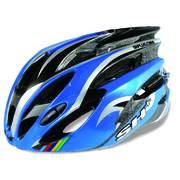 SH+ NATT cycling helmets, Blue/silver