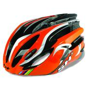 SH+ NATT cycling helmets, Orange/silver