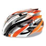 SH+ ZEUSS cycling helmets, Orange/white