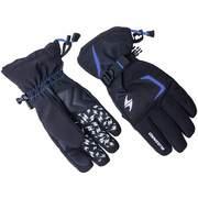 Blizzard REFLEX ski gloves, Black/blue