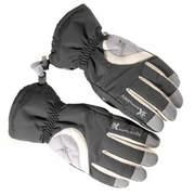 Explosiv LADY ski gloves, Grey/white